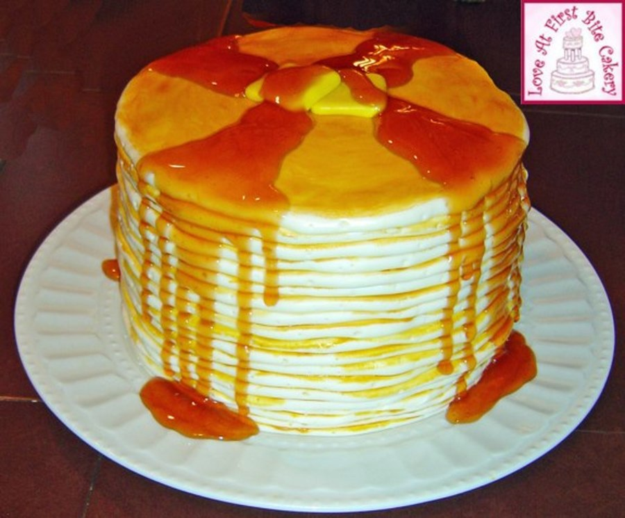 Pancakes And Syrup on Cake Central
