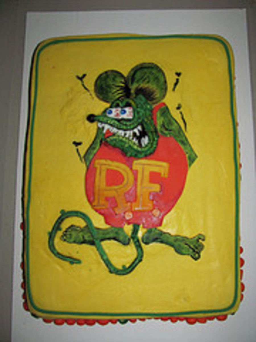 Rat Fink on Cake Central