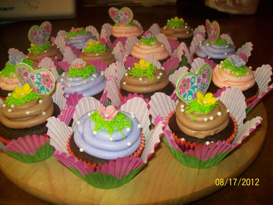 Fairy Princess Cupcakes on Cake Central