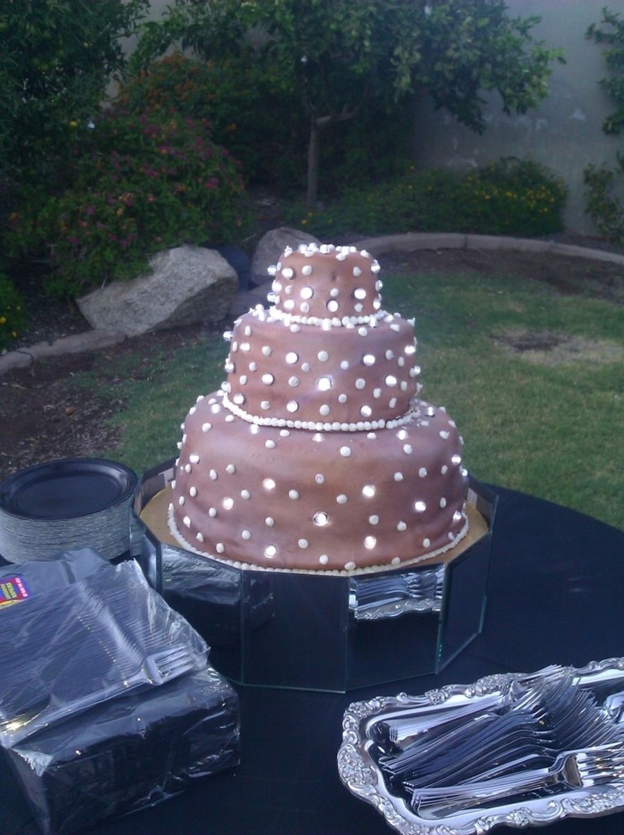 Lighted Wedding Cake on Cake Central