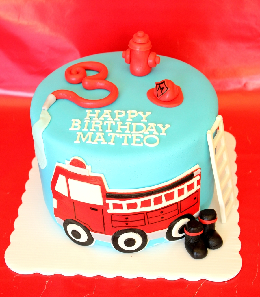 Fire Engine Cake Images