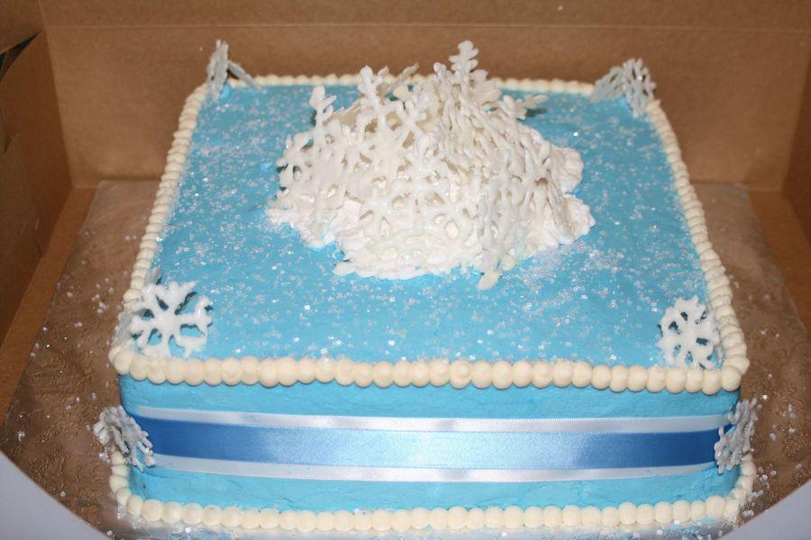 winter wonderland bridal shower on cake central