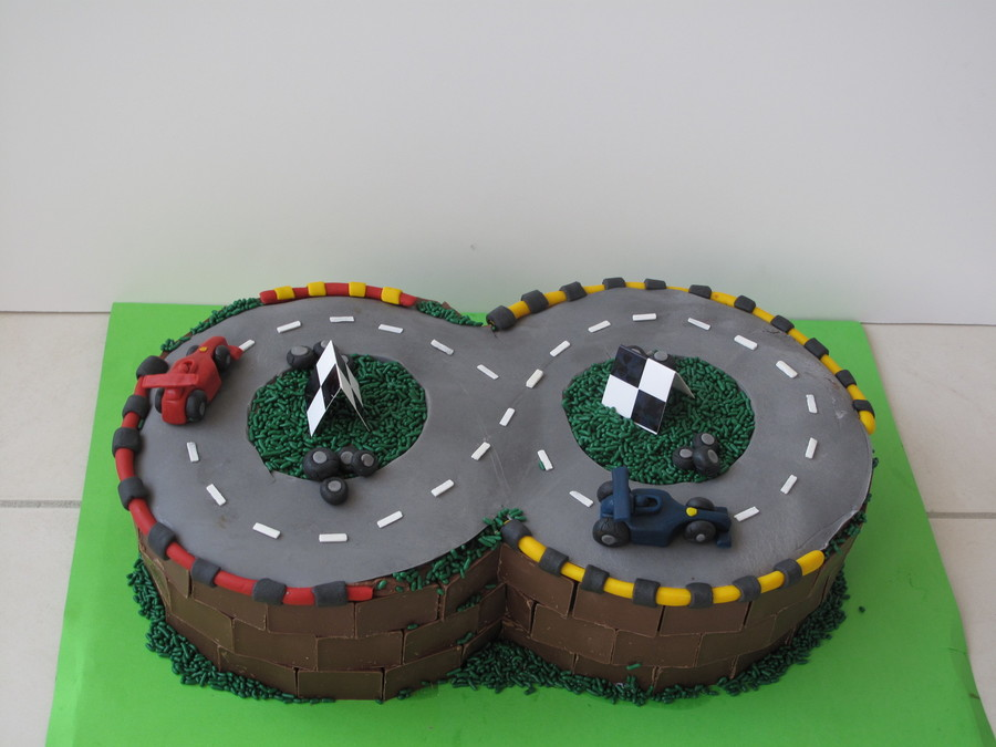 How To Make A Race Car Cake From Scratch