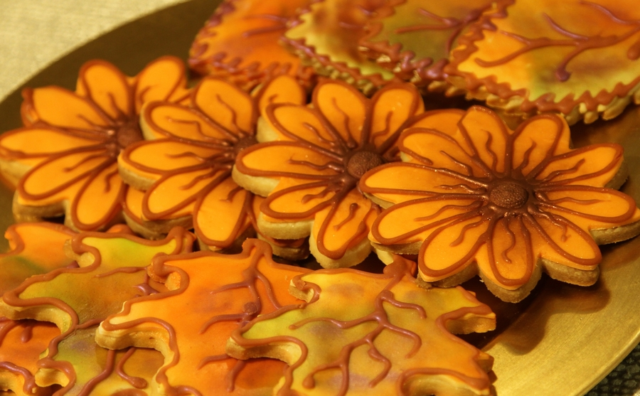 Fall Time Cookies  on Cake Central