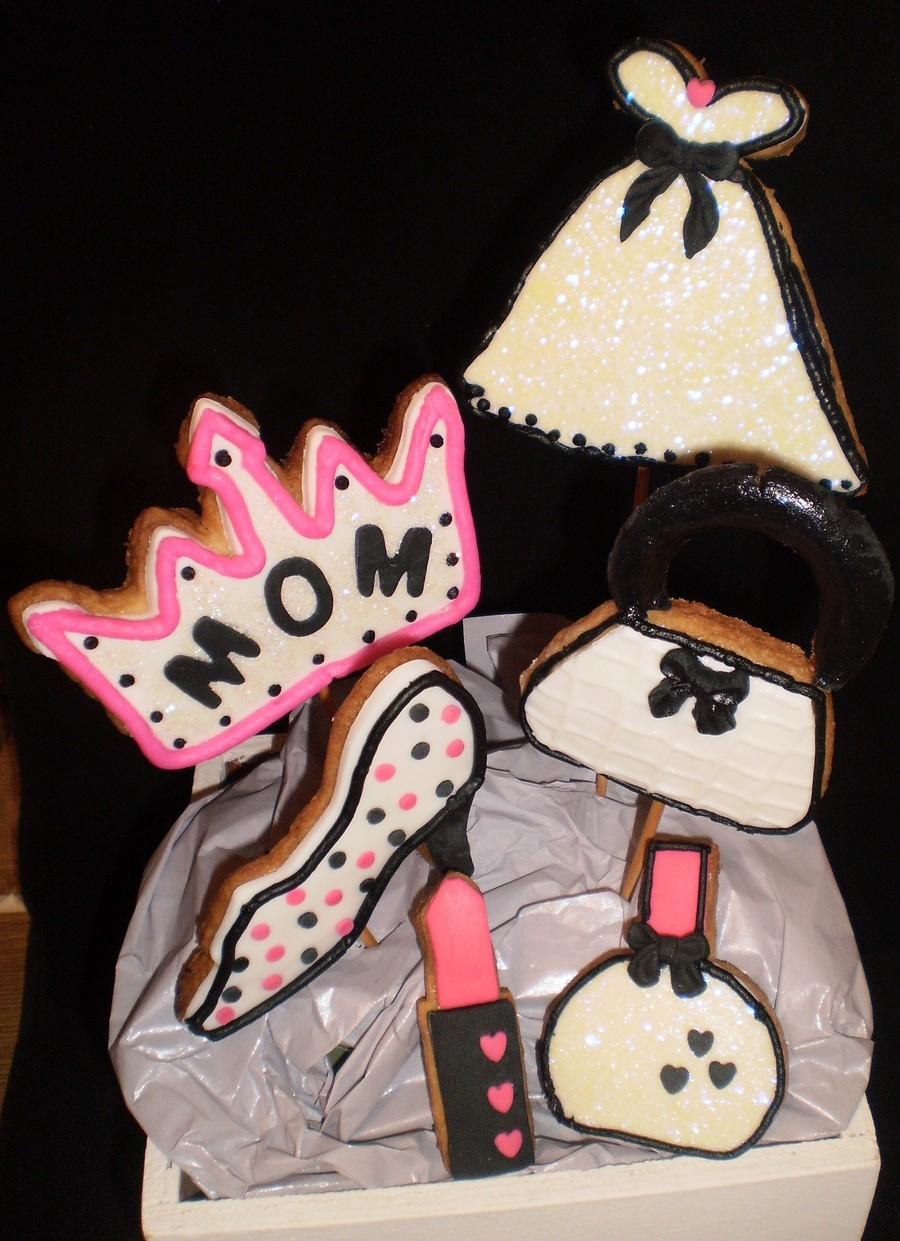 Mothers Day Cookie Bouquet on Cake Central