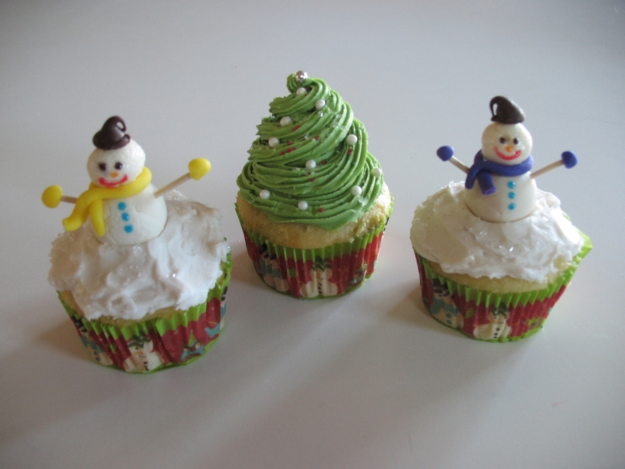 Winter Cupcakes on Cake Central