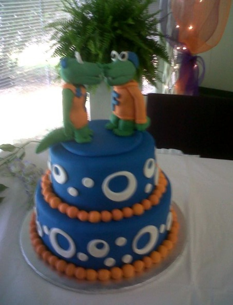 Florida Gators Groom's Cake on Cake Central
