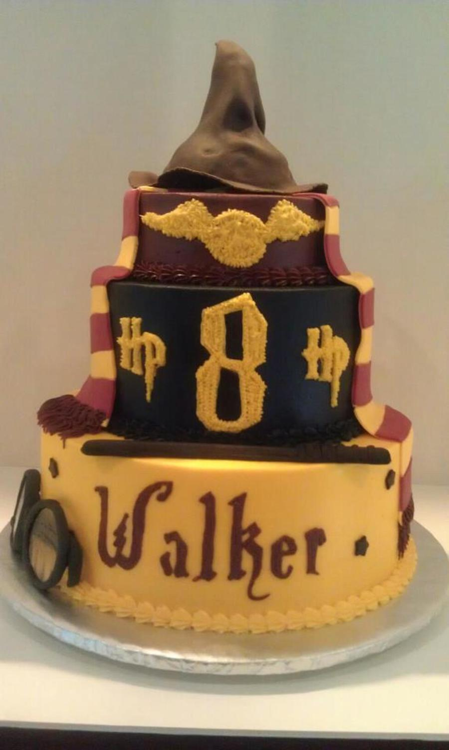 Harry Potter Birthday Cake Cakecentral Com