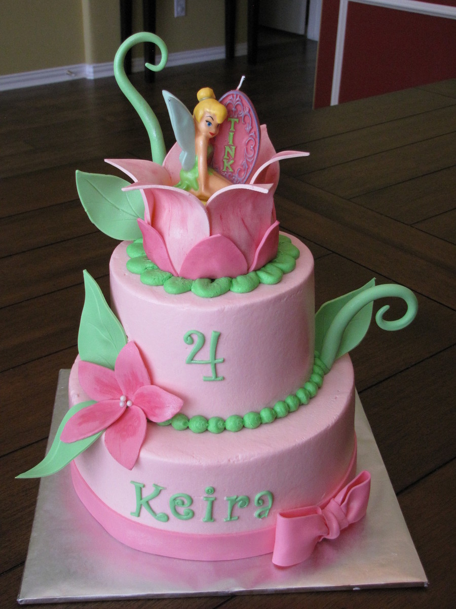 Tinkerbell Cake Cakecentral Com