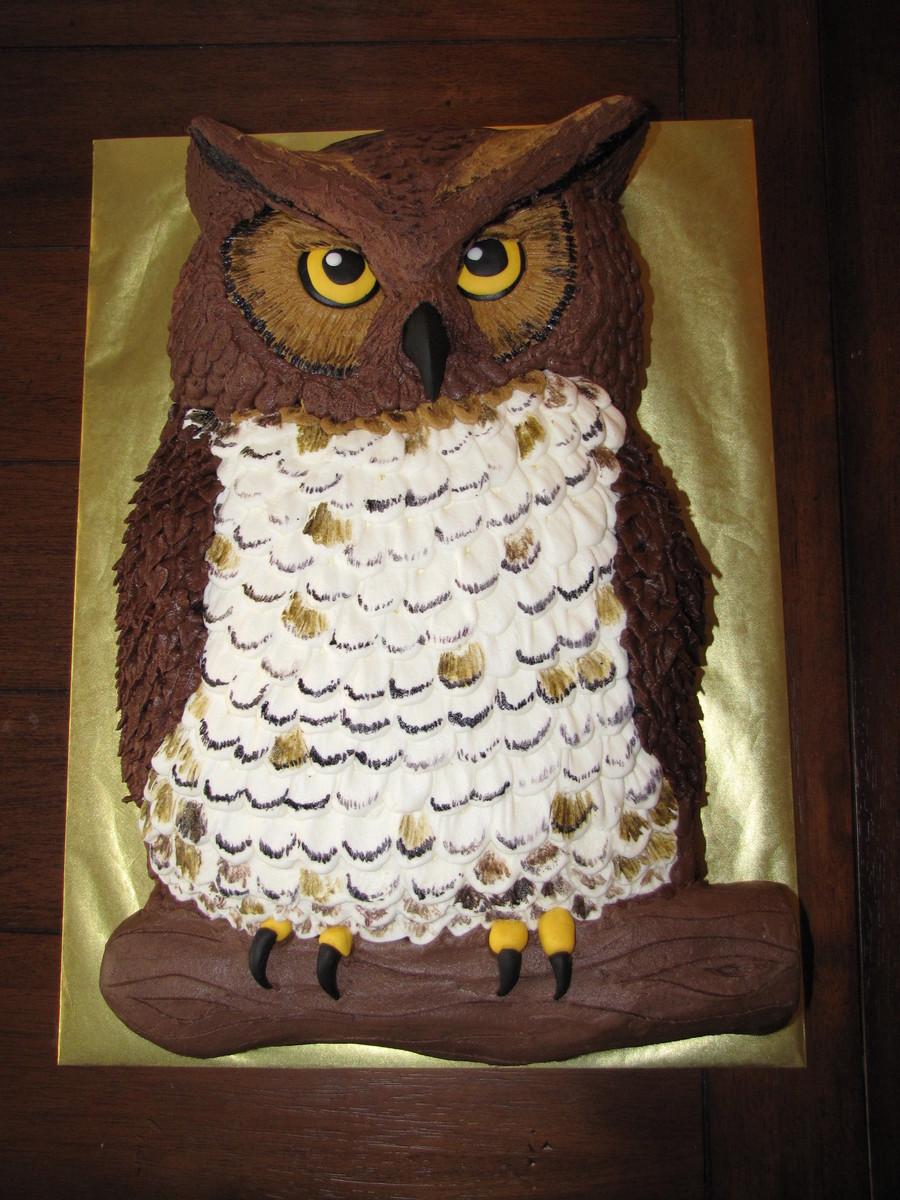 Owl Cake Recipe