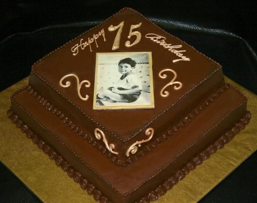 Terrific Grandpas 75Th Birthday Cakecentral Com Funny Birthday Cards Online Elaedamsfinfo