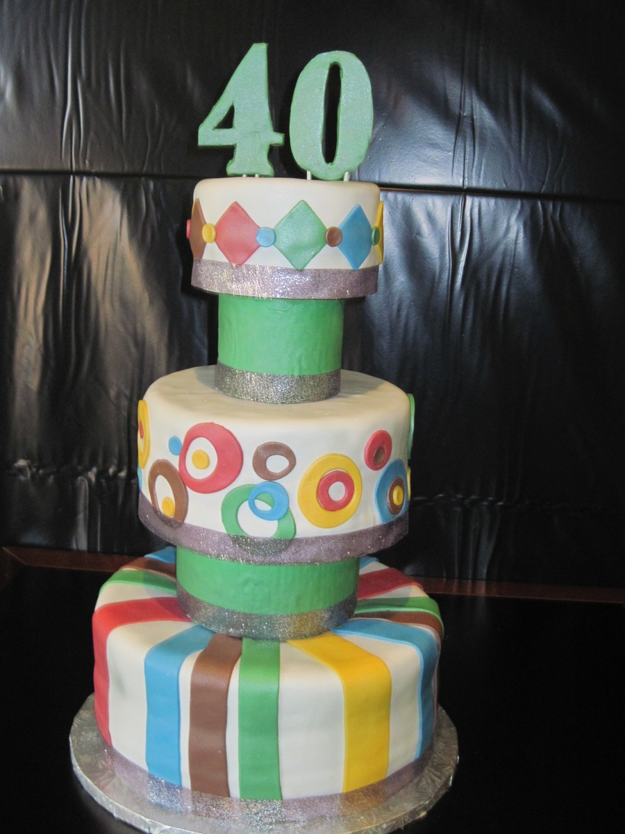 40Th on Cake Central