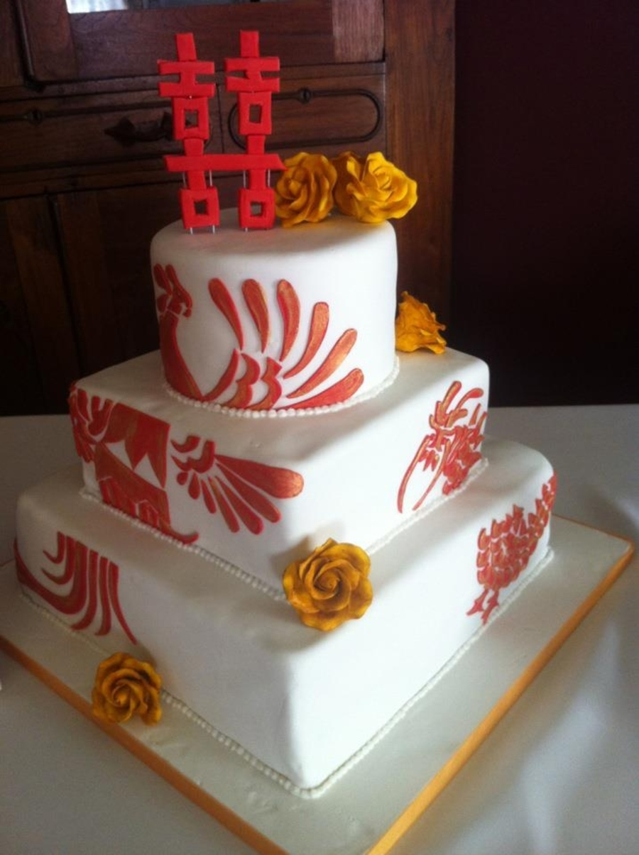 Asian Wedding on Cake Central