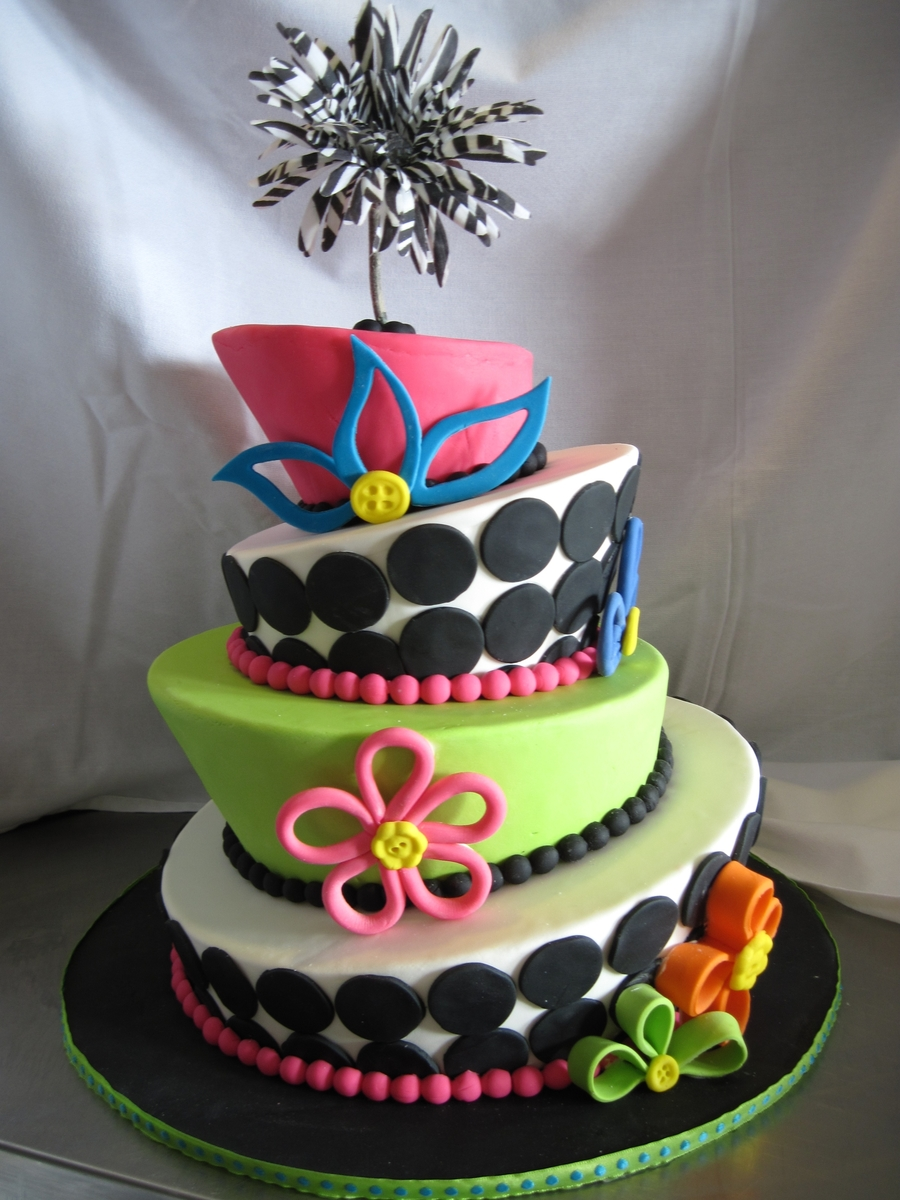 Funky Fun on Cake Central