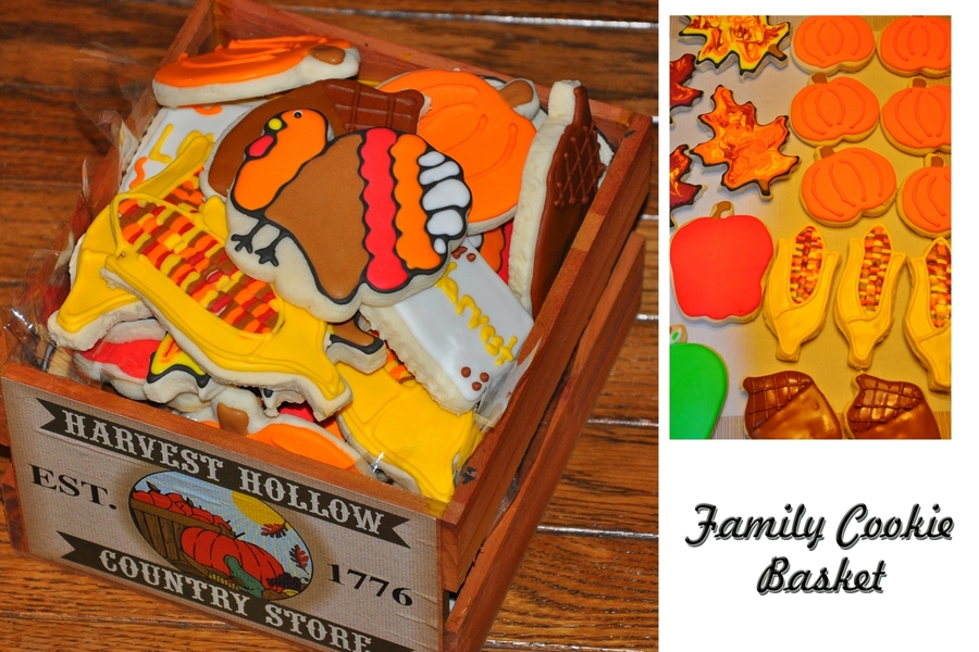 Fall Sugar Cookies on Cake Central