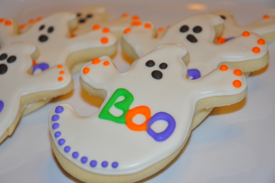 Ghost Sugar Cookies  on Cake Central