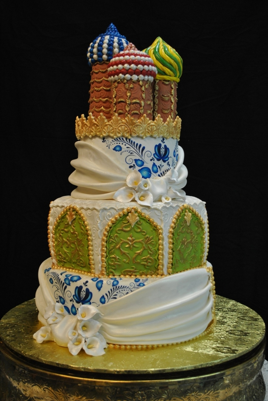 russian wedding cake russian herritage wedding cake cakecentral 19473