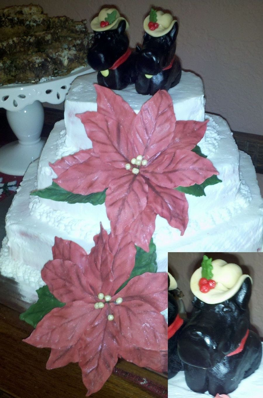 Christmas Scotties on Cake Central