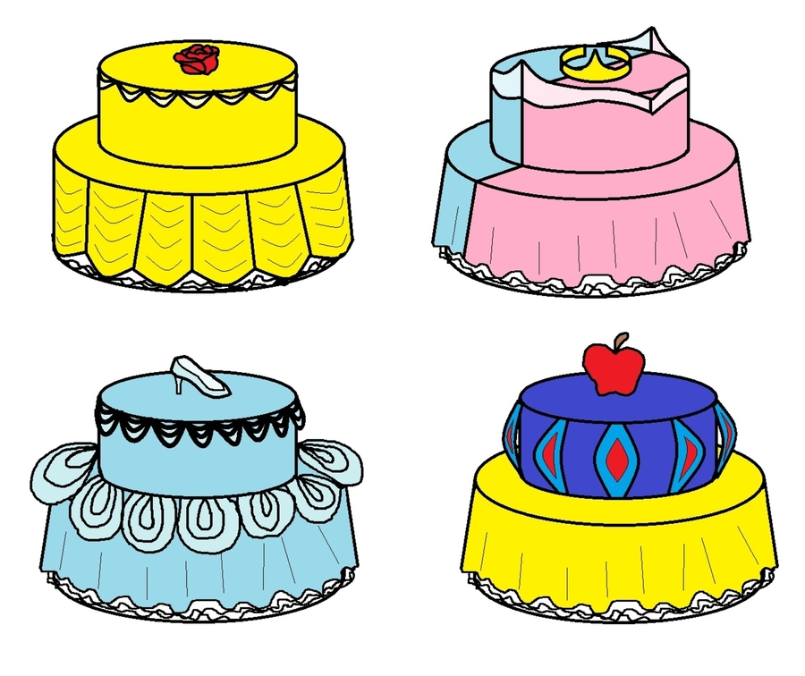 Princess Cakes  on Cake Central