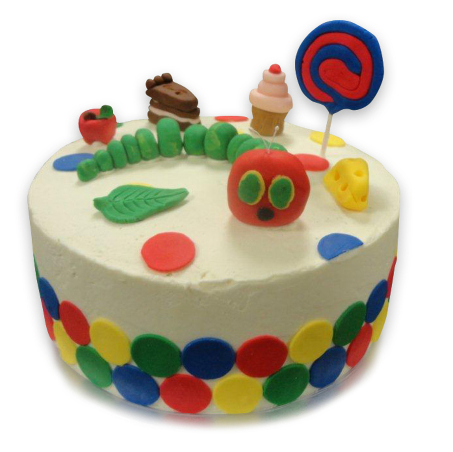The Very Hungry Caterpillar on Cake Central