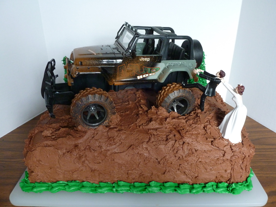 chocolate groom 39 s cake w jeep. Black Bedroom Furniture Sets. Home Design Ideas