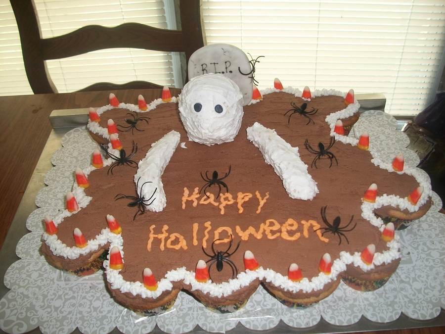 Halloween Cupcake Cake on Cake Central