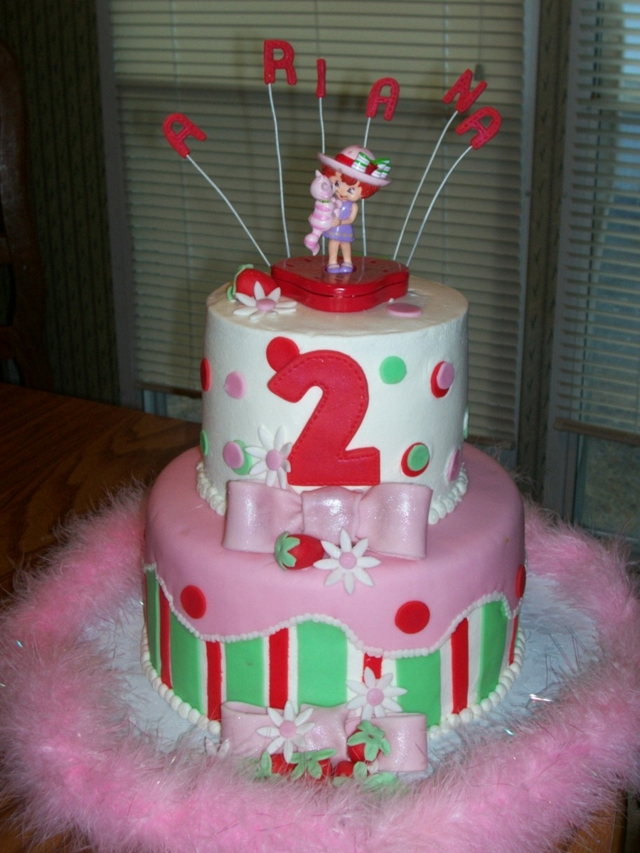 Strawberry Shortcake Cake on Cake Central