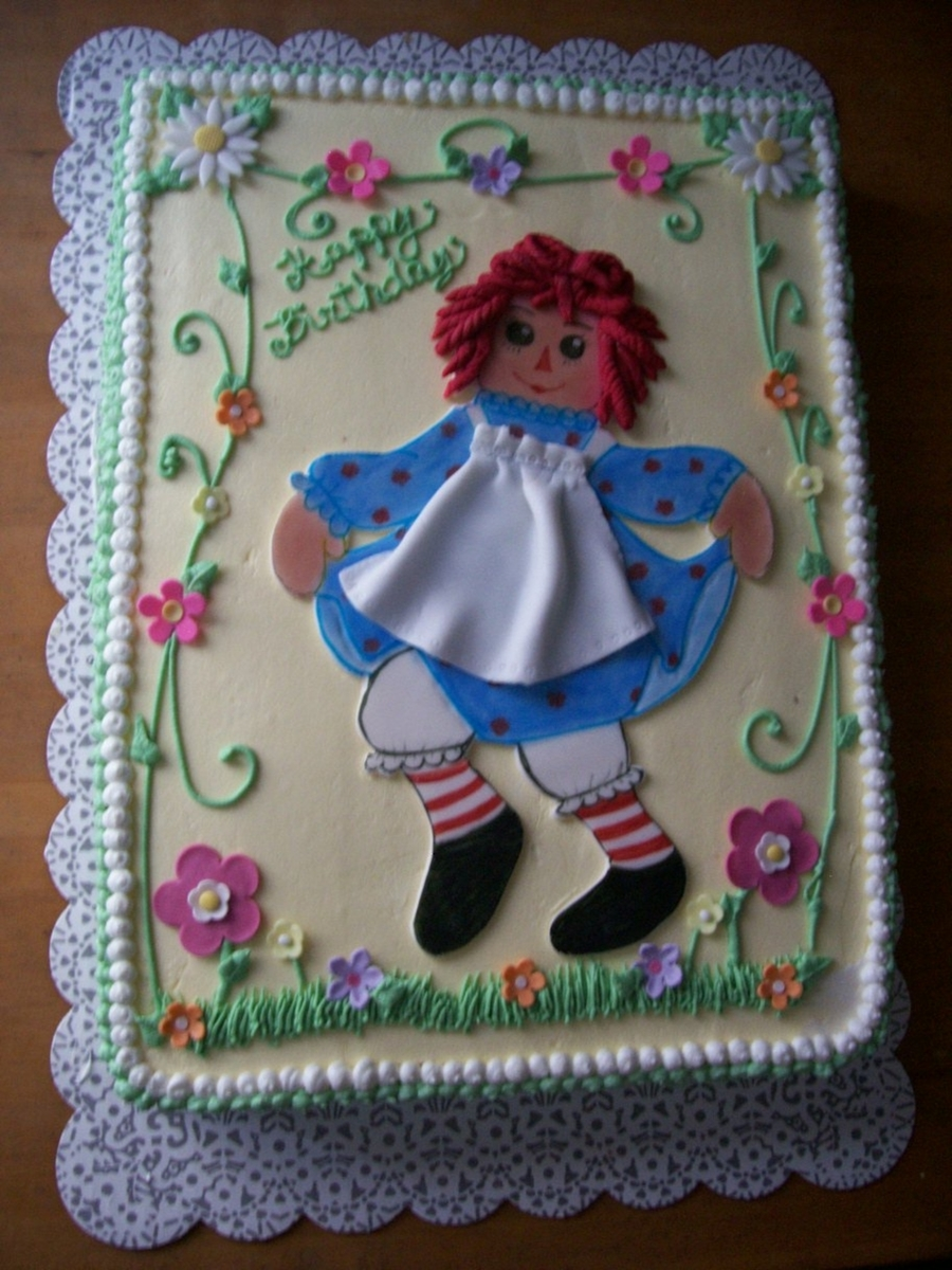 Raggedy Ann on Cake Central