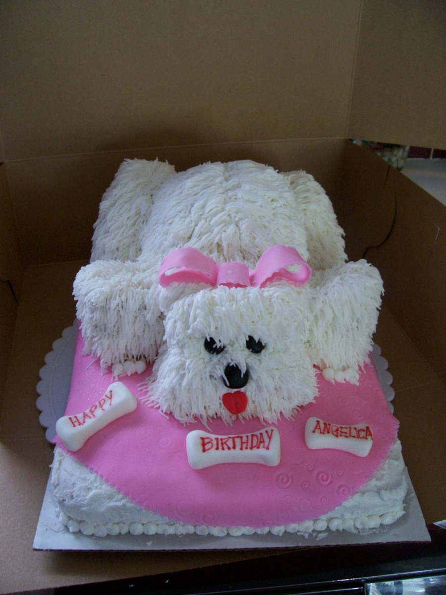 Puppy Cake on Cake Central