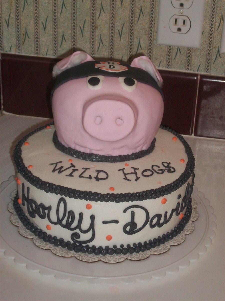 Harley Wild Hogs Cake on Cake Central
