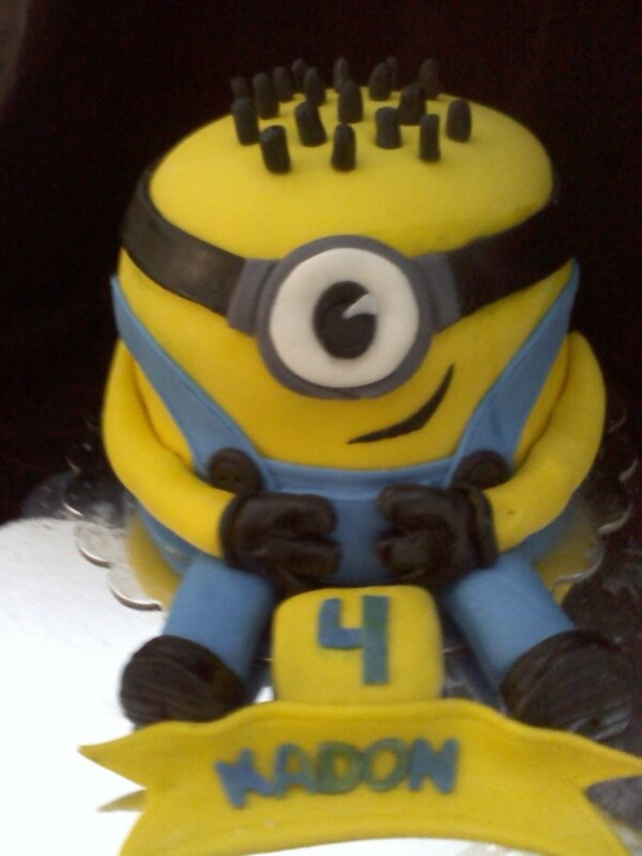 Despicable Me Birthday on Cake Central