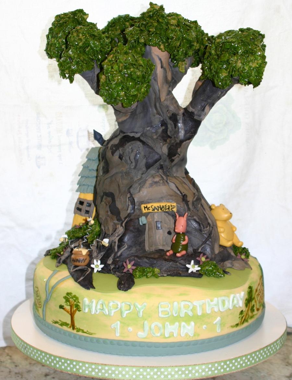 Tree Birthday Cake