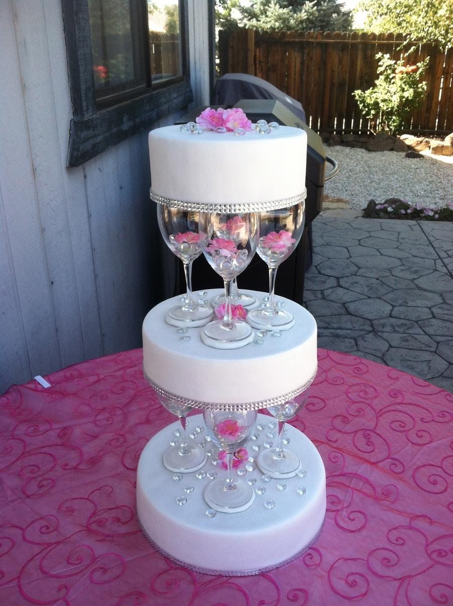 Wine Themed Wedding Cakes