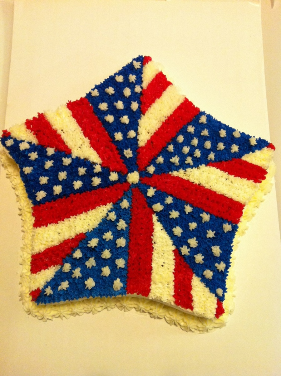 4Th Of July Pinwheel Sta on Cake Central