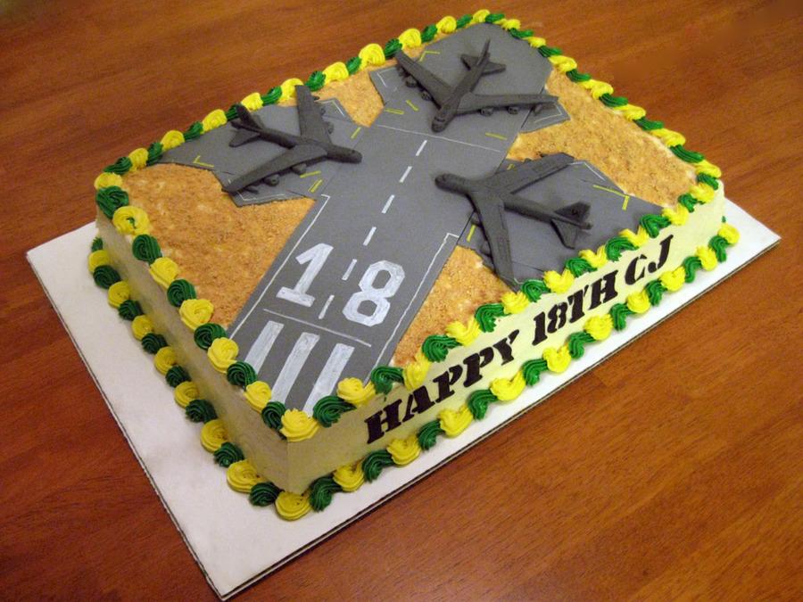 Barksdale Air Force Base B52's - CakeCentral.com