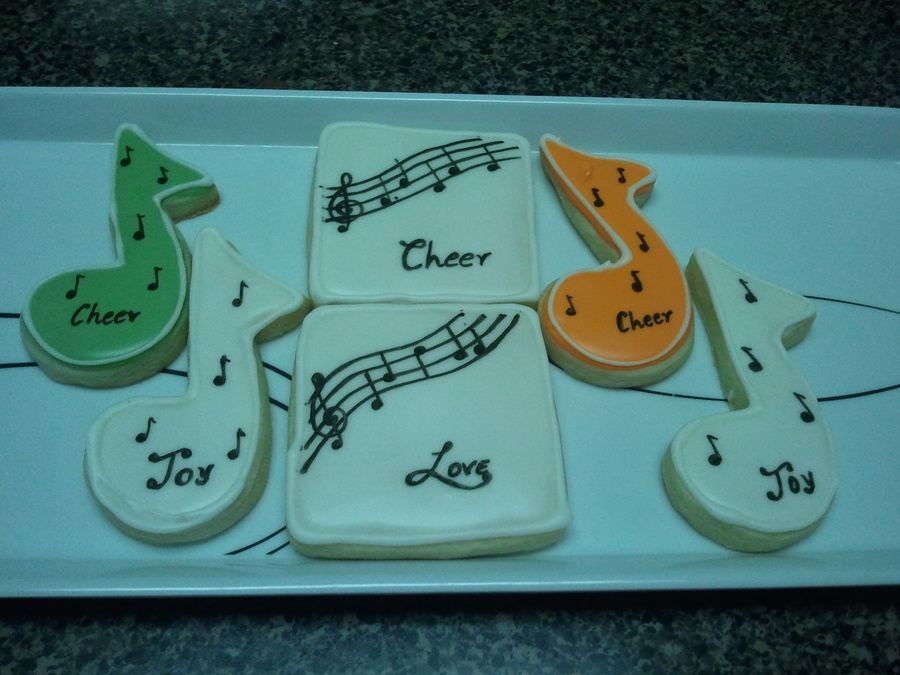 Music Notes on Cake Central