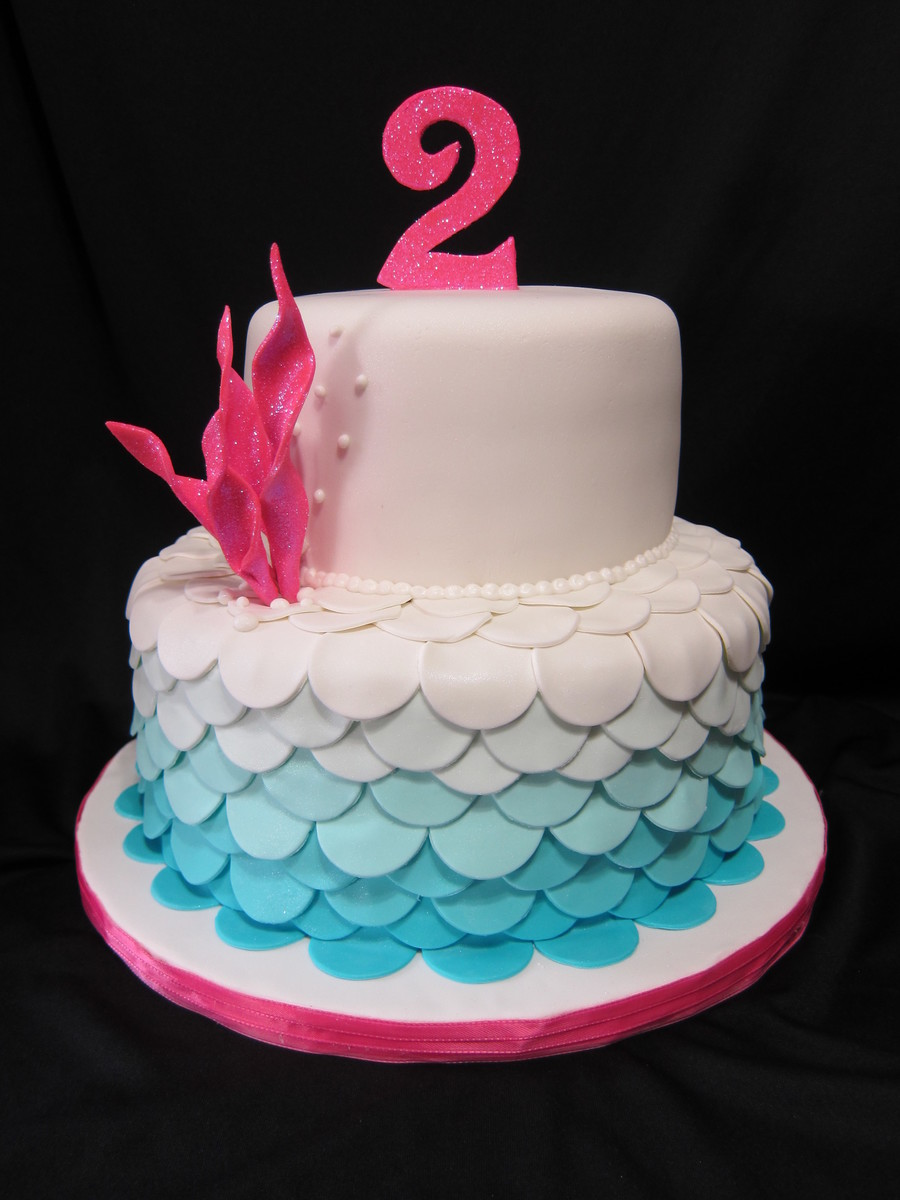 Mermaid Scales CakeCentralcom