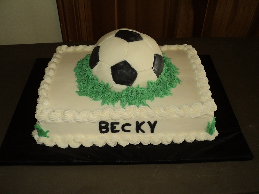 Soccer Ball on Cake Central