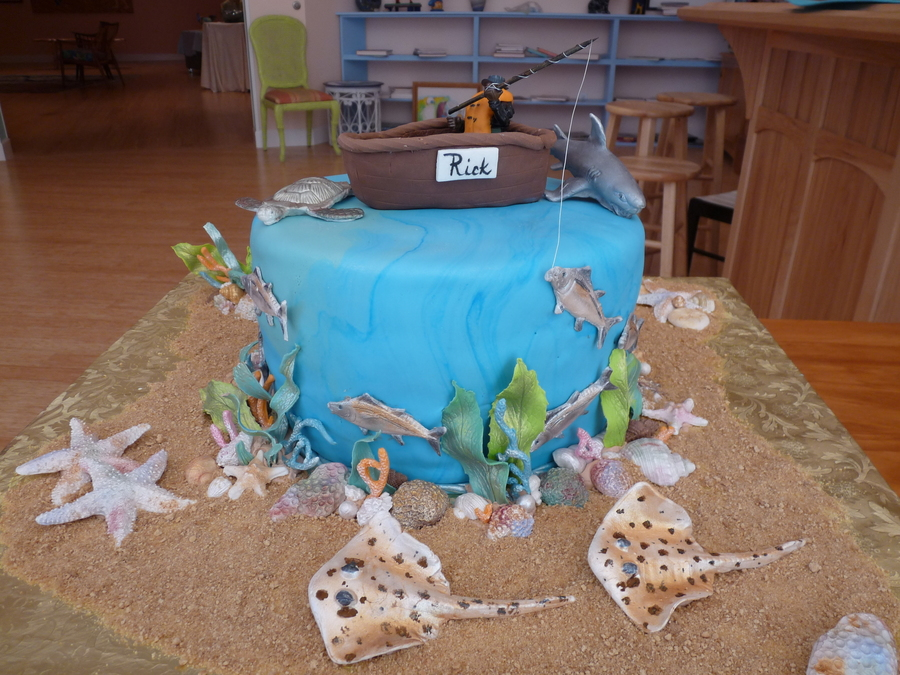 Saltwater Fisherman on Cake Central