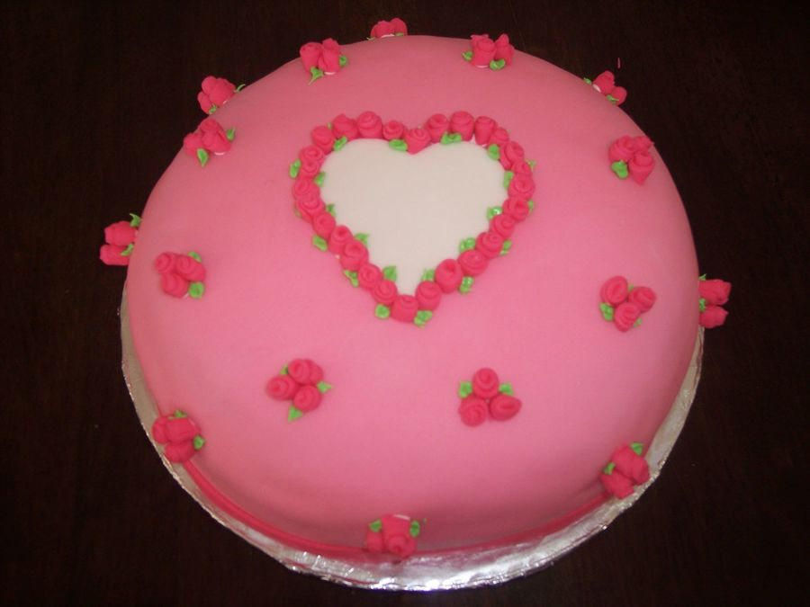 For My Sweetheart on Cake Central