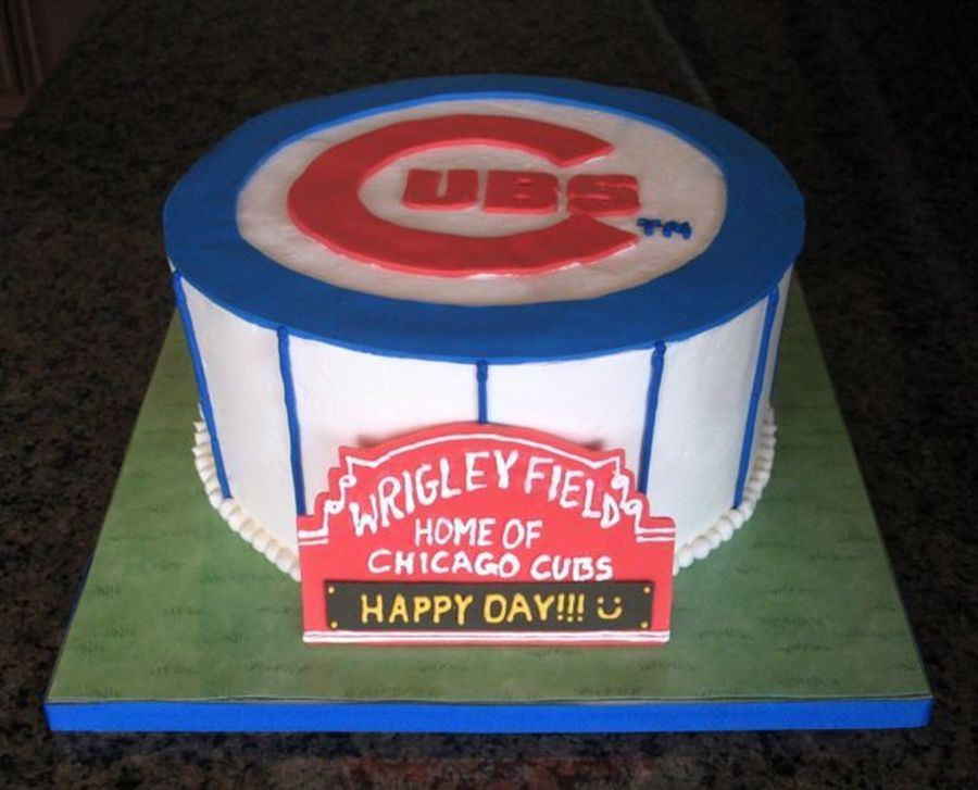 Chicago Cubs on Cake Central