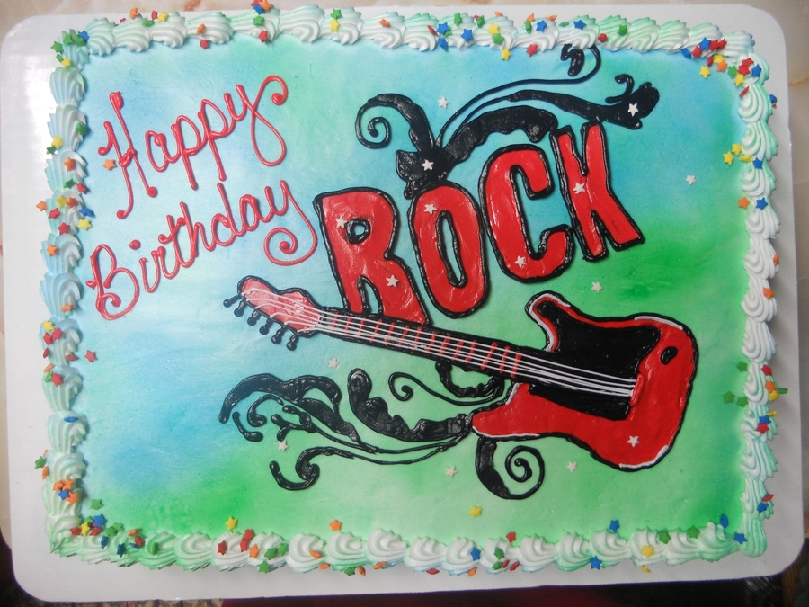 Rock!! on Cake Central