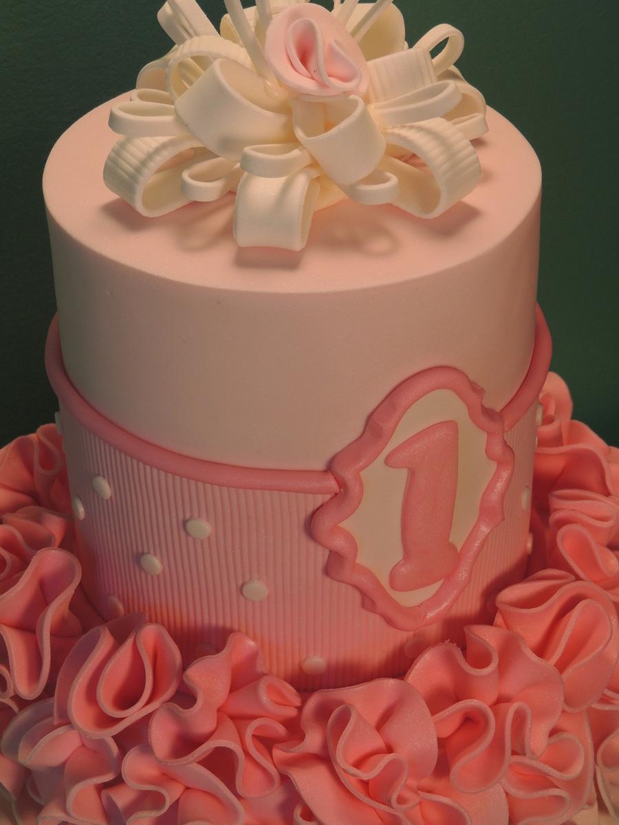 Ballerina 1st Birthday Cake Cakecentral Com