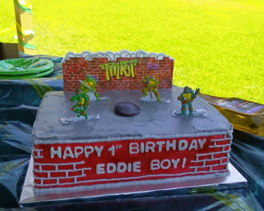 Tmnt Birthday Cake on Cake Central