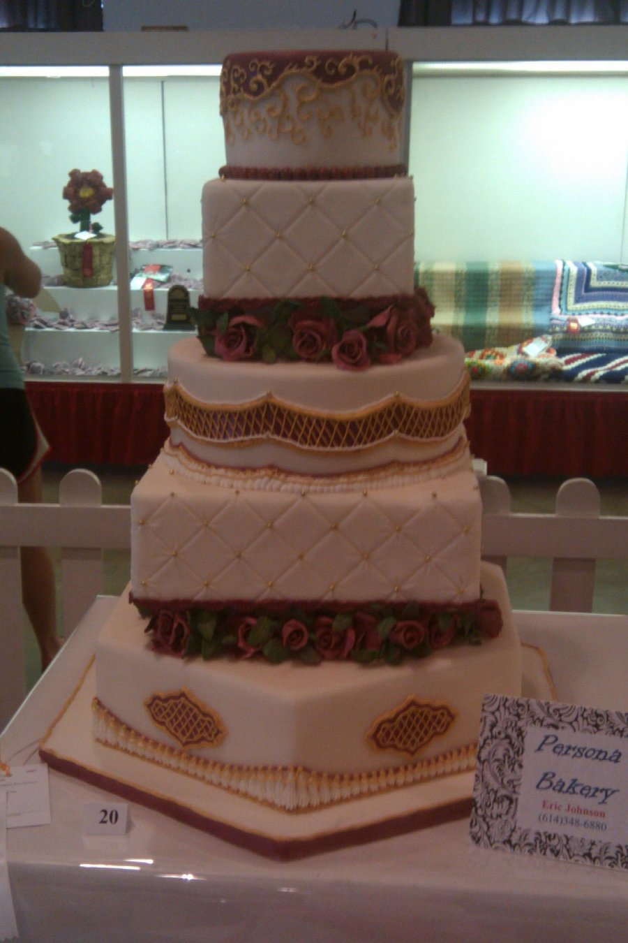 State Fair Wedding Cake on Cake Central