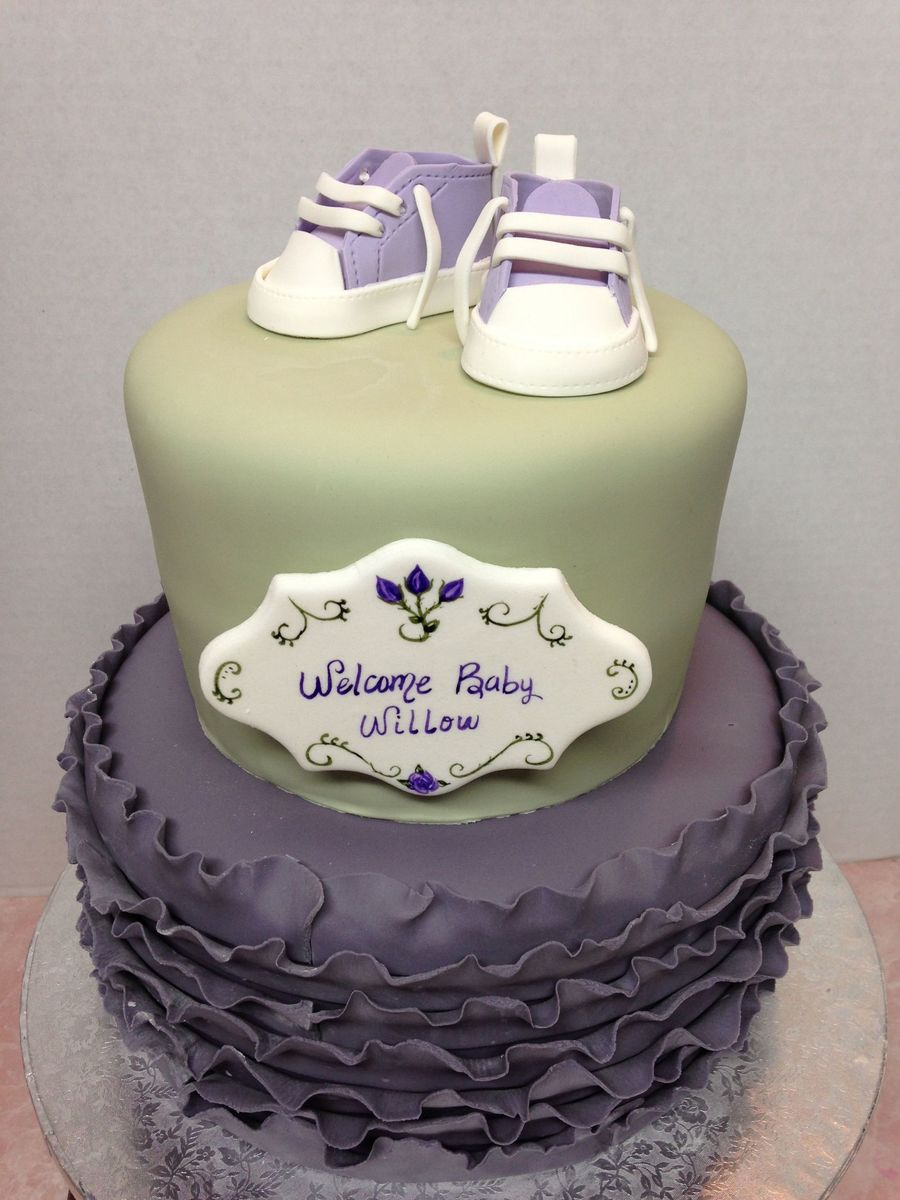 Sweet Baby Shower Cake on Cake Central