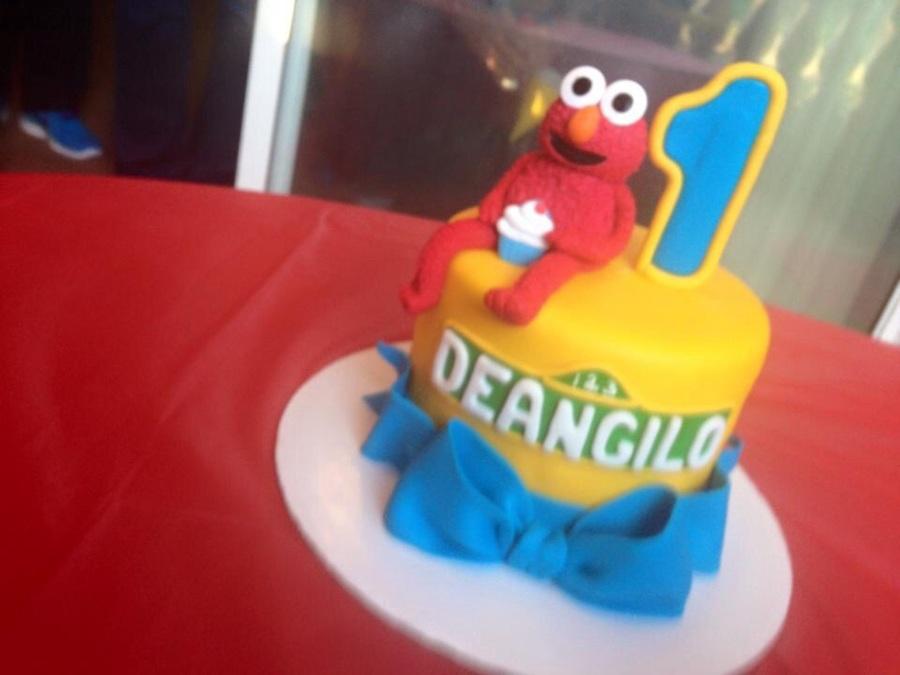 Elmo Birthday Cake Edible Image : Elmo Birthday Cake - CakeCentral.com
