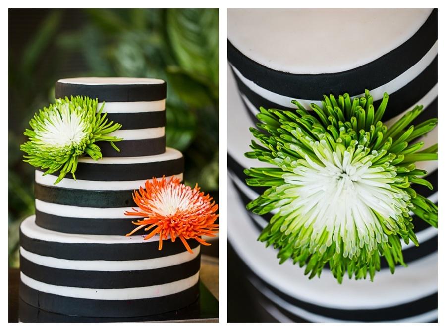 Black And White Striped Wedding Cake Wwwcakecafe4ucom Cakecentral Com