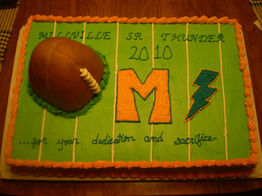 Thunderbolts Football Banquet on Cake Central
