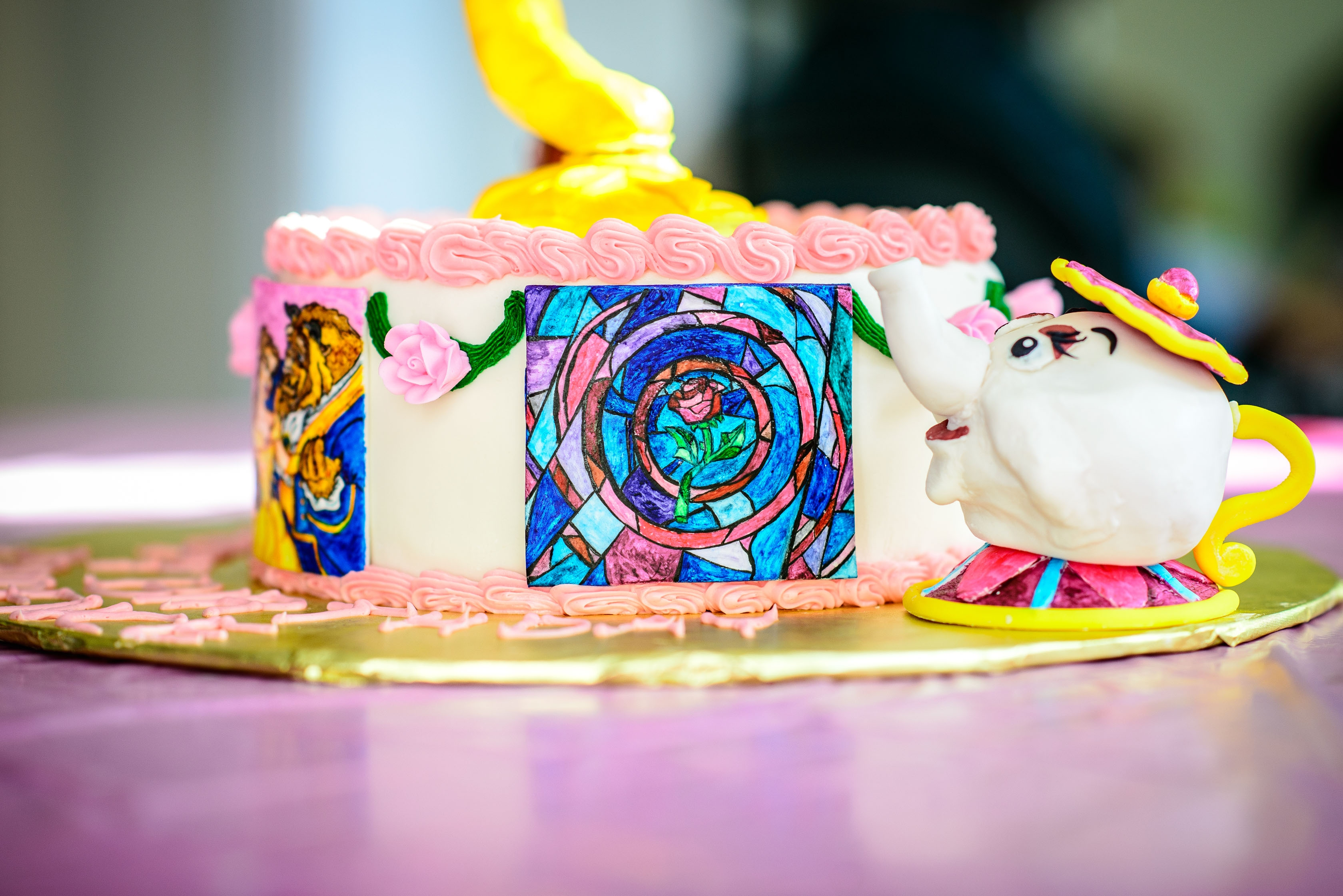 Beauty And The Beast Birthday Cake Cakecentral Com
